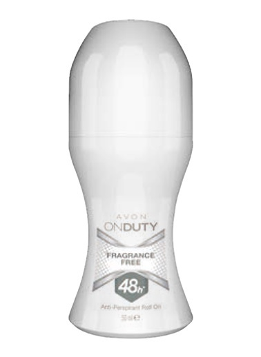 Avon Avon OnDuty Fragrance Free Unisex, Renksiz
